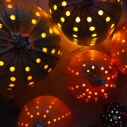 Les courges lanternes magiques