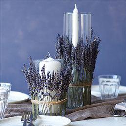 Lavendel-Deko