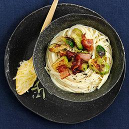 Pasta mit Rosenkohl und Mascarpone
