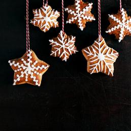 Lebkuchen-Sterne