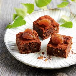 Kürbis-Brownies