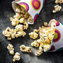 Farbiges Popcorn