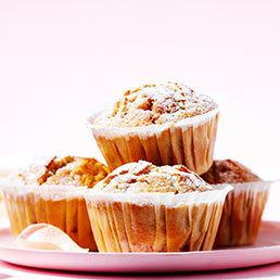 Erdbeer-Rosenwasser-Muffins