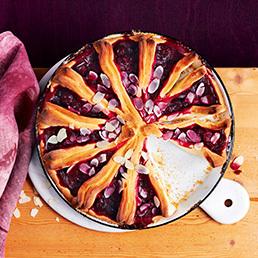 Kirschen-Zupf-Kuchen