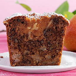Birnen-Streusel-Cake