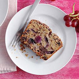 Trauben-Schokolade-Cake