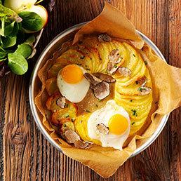 Trüffel-Kartoffel-Rosette
