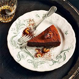 Whisky-Dattelkuchen
