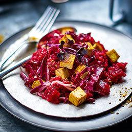 Salade de quinoa aux betteraves