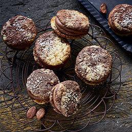 Kokos-Kakao-Cookies