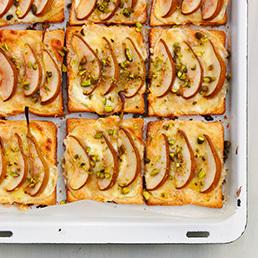 Birnen-Toasts