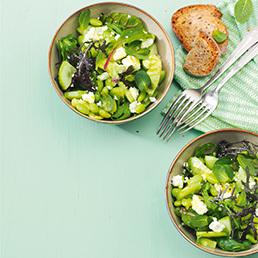 Salade concombre-edamame