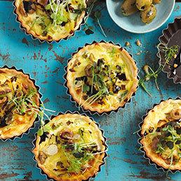 Frischkäse-Tartelettes