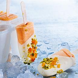 Aprikosen-Jogurt-Glace