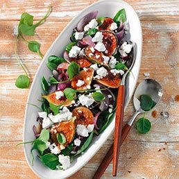 Salade figues-féta