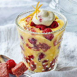 Himbeer-Randen-Trifle