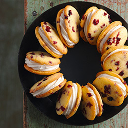 Cranberry-Orangen-Whoopies