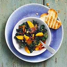 Kalette-Orangen-Salat