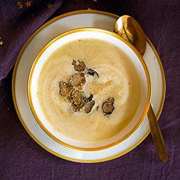 Schwarzwurzel-Suppe mit Trüffel