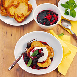 French-Toasts mit Limettencrème
