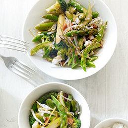 Salade green power  à la feta
