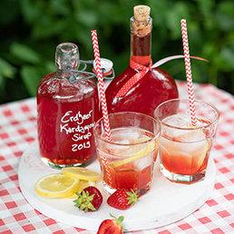 Erdbeer-Kardamom-Sirup