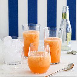 Melonen-Wodka-Slush