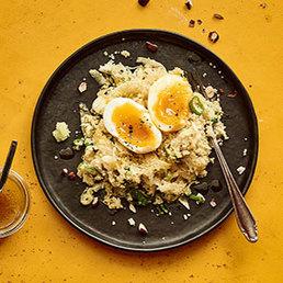 Couscous-Fenchelsalat mit Ei