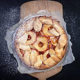 Tarte aux pommes épicée