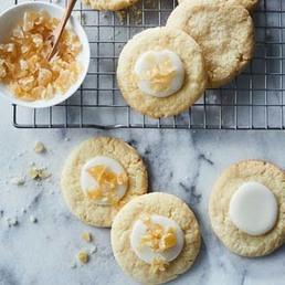 Zitronen-Ingwer-Cookies