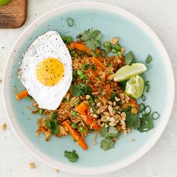 Fried Rice mit Spiegelei