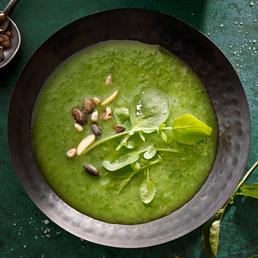 Brunnenkresse-Suppe