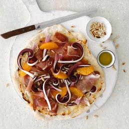 Pizza blanche au radicchio tardivo