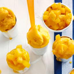 Mango Frozen Jogurt