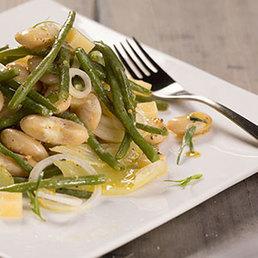 Saubohnensalat