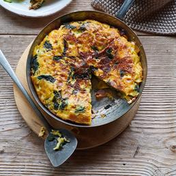 Farfalle-Omelette