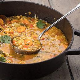 Harira-Suppe mit Salzzitronen