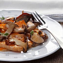 Kürbis-Pilz Salat