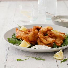 Fischknusperli mit Tartar-Sauce