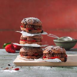 Schokolade-Bagels