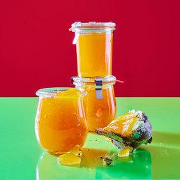 Confiture au melon et à la vanille