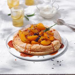 Moscato-Pfirsich-Tarte