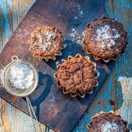 Schokolade- Kartoffel-Muffins