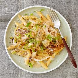 Pasta mit Amigne- Fenchel-Sbrinz-Sauce