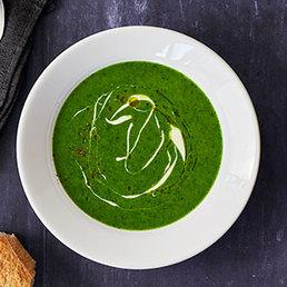 Soupe au chou kale