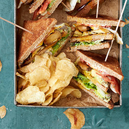 Club sandwichs végétariens