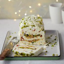 Cake glacé cassata