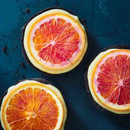 Tartelettes aux oranges sanguines
