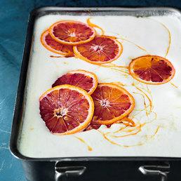 Tiramisu aux  oranges sanguines