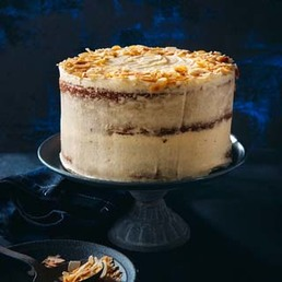 Gâteau aux carottes et au fromage frais